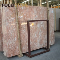 Natural Stone Germany Diana Rose Red Marble Price for Slabs and Tiles