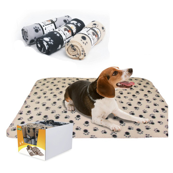 Wholesale Custom Soft Large Dog Bed customized cute dog blanket