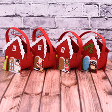 DM 631 Wholesale original Christmas Eve apple tote decoration house tote Christmas gift bag