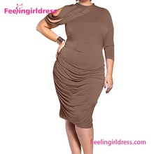 Alibaba Newest Hollow Out Sleeve Summer Dresses For Middle Aged Women