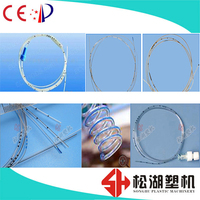Precision PVC medical anesthesia pipe extrusion line goood stability