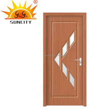 New pvc latest design cardboard doors price