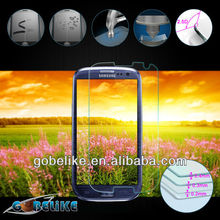 Manufacturer!!! 2014 Tempered Glass Screen Protector For Samsung S4/S4 mini
