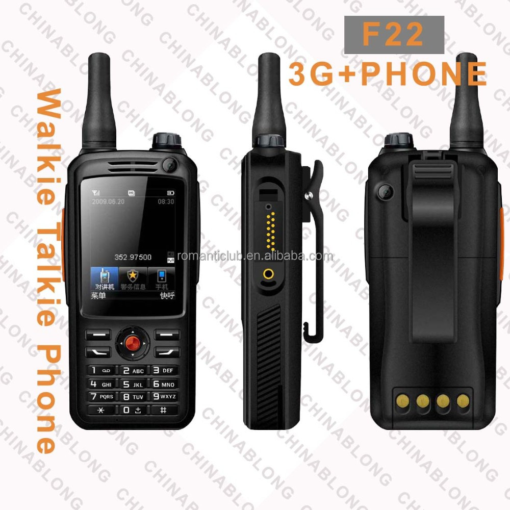 3G POC professional Handheld china digital radio two way radios F22 Transceiver Repeater Waterproof