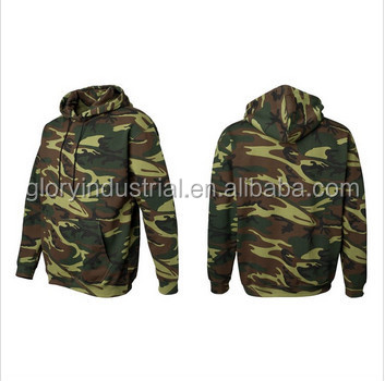 wholesale camo fleece hoodie sweatshirt with kinds of colors