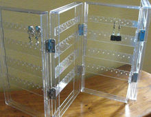 Clear Acrylic Folding Display Stand