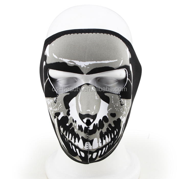 Airsoft Navy Seal Army Skull Neoprene skull full Face Tactical Military Wargame/Riding Protector Mask
