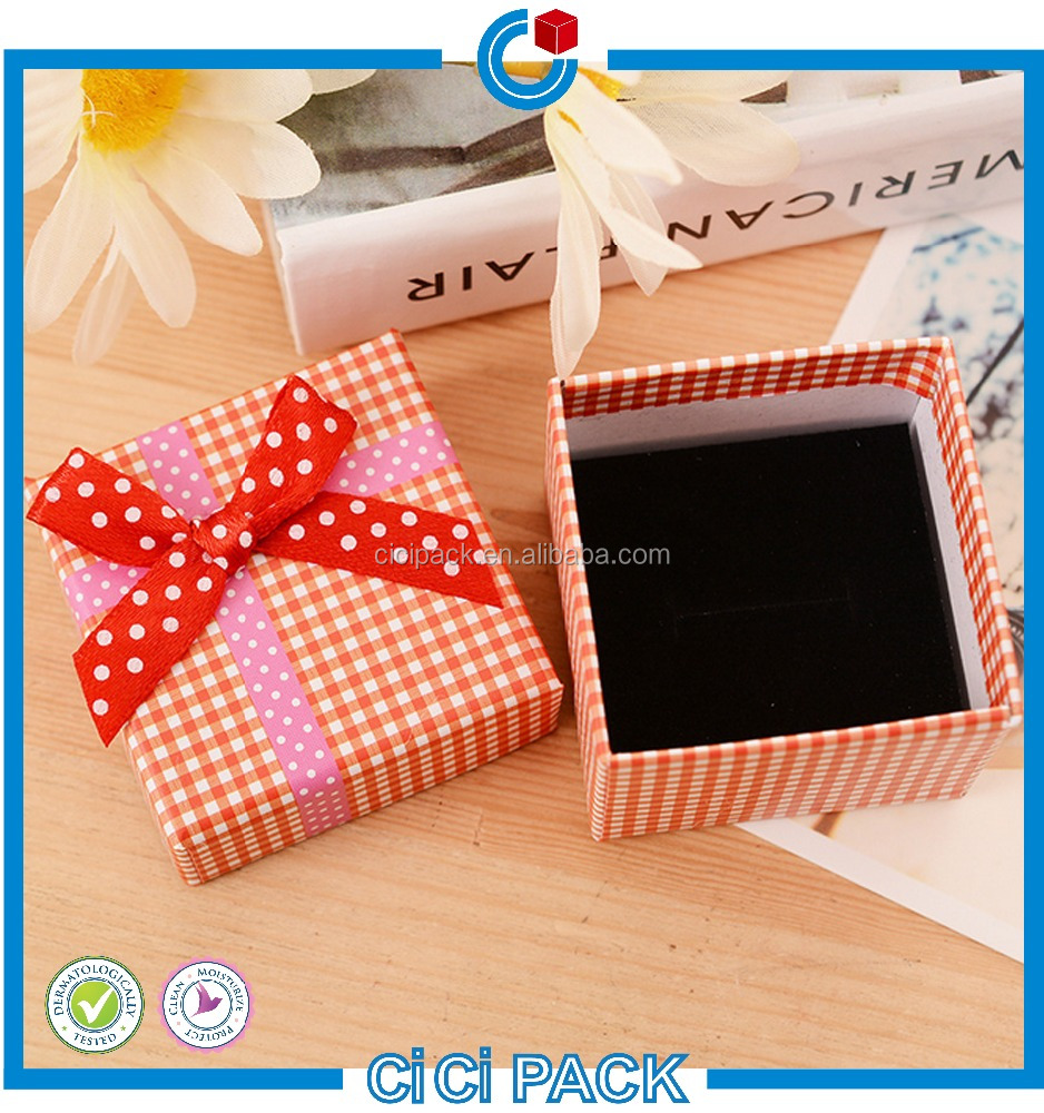 China supplier custom gift box top and bottom plain cardboard wallet packaging