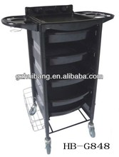 protable salon hair color trolley HB-G848