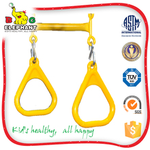 high capability stocked outdoor plastic trapeze swing