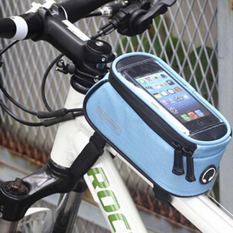 Fashional Mountain Bicycle Frame Bag Mobile Phone Pouch