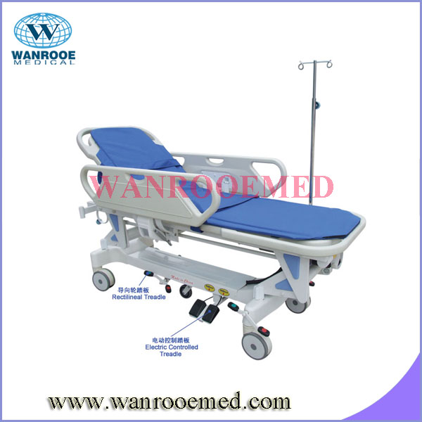 BD111D best price Cold Rolled Steel Electric Patient Transport Stretcher