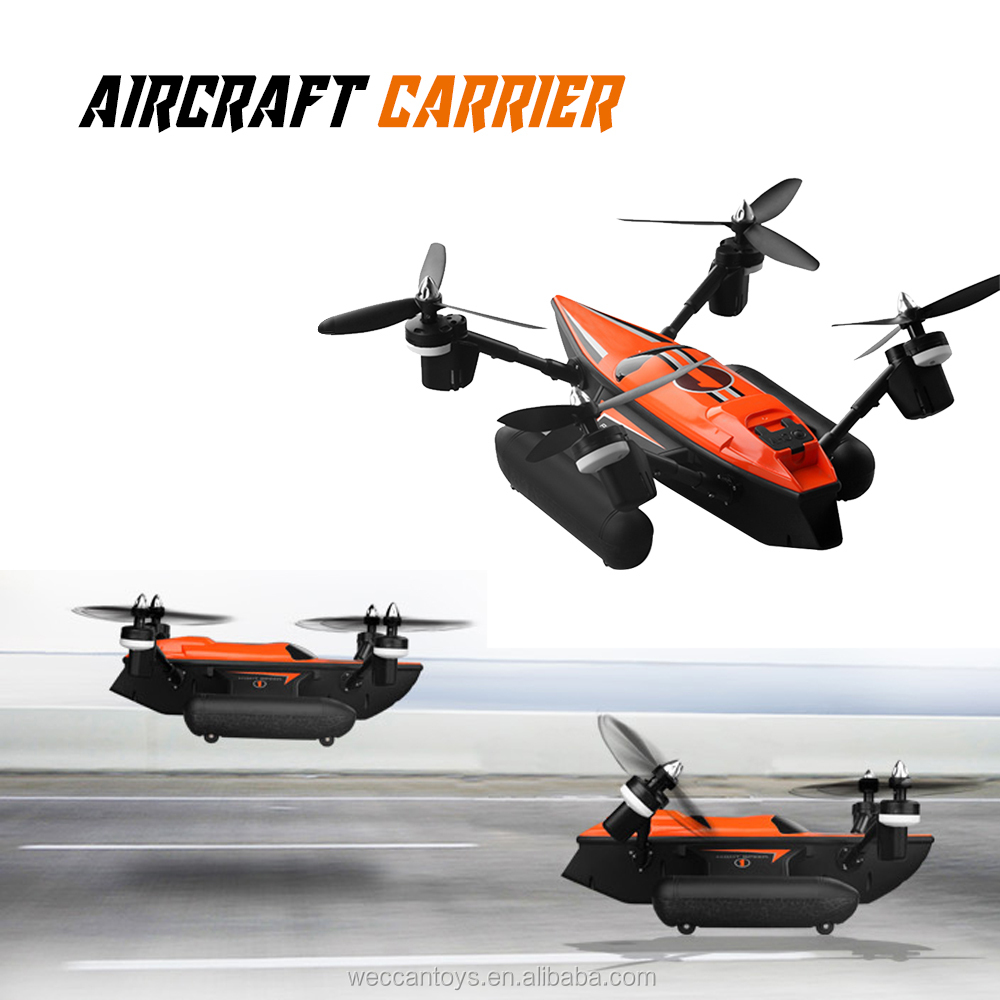 2.4G RC underwater/land/air drone with camera for more combination fun