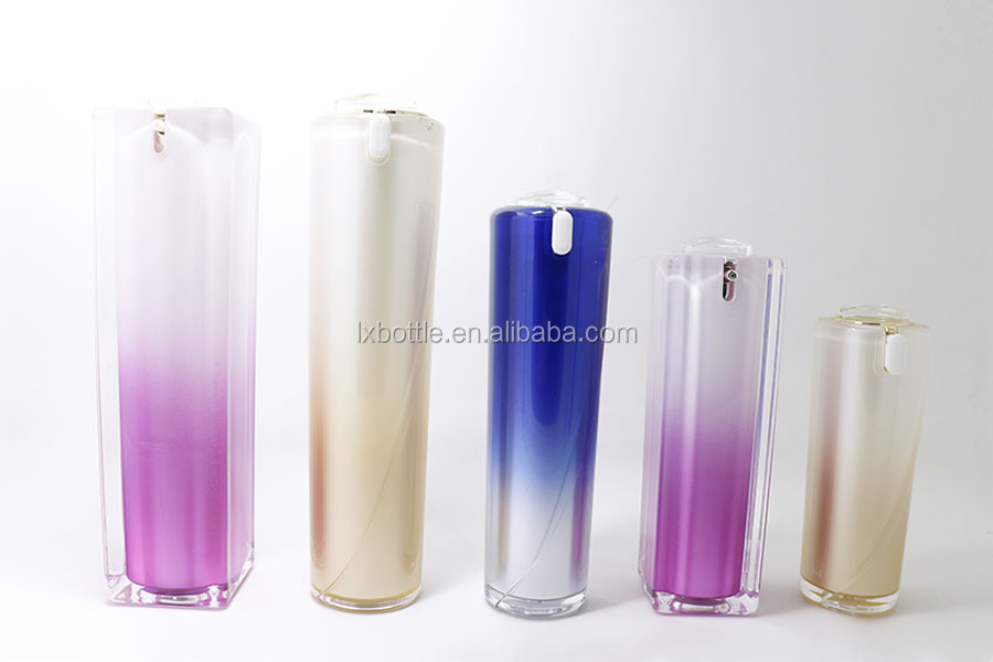 Superior Manufacturer Cosmetic acrylic Packaging LOTION oil bottle