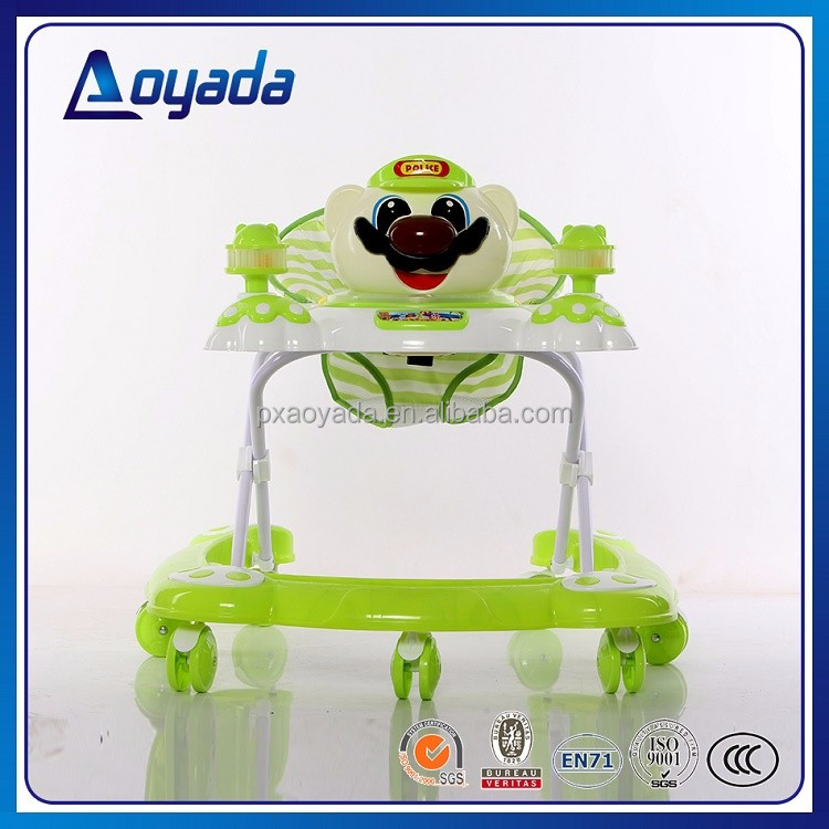 Manufacturers wholesale new model baby walker with 8 swivel wheels fisher price in china