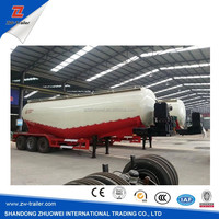 3 axle dry bulk cement carrier 50t semi trailer