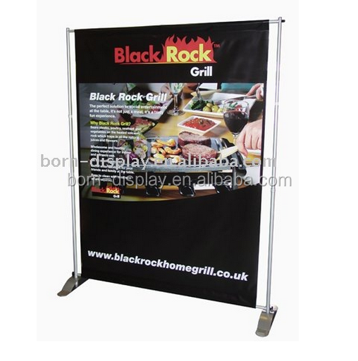 Four Metal Telescopic Poles Bolt Together to Hold Banner of any Size From 48aa Wide and 36aa Tall Omnipotent Big Wall Shelf