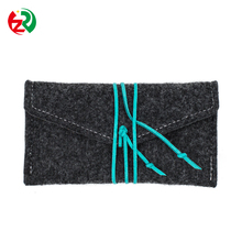 Alibaba hot sale cell phone pouch low price design felt mobile phone cover