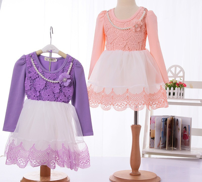 C70547A Latest childrens different designs casual dresses very cheap