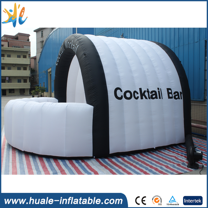 2016 hot outdoor inflatable bar, inflatable serving bar for sale