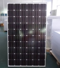 black color, A grade cell, high efficient, pv module 260w mono solar panel