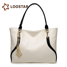 2017 New fashion single shoulder bag simple ladies hand bag tote bag