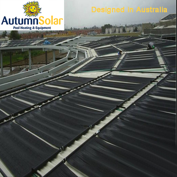 swimming pool energy saving solar water heater popular in Australia