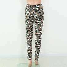 Newest Army Fancy Capris Pants Made In China For Fashion Women