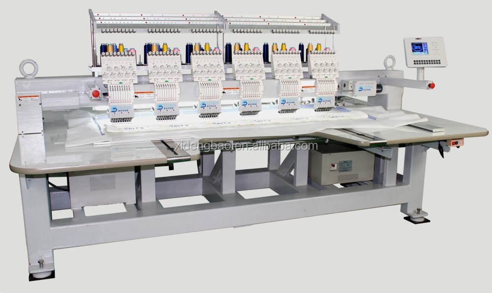 Economic Colors Computerized Sewing Embroidery Machine