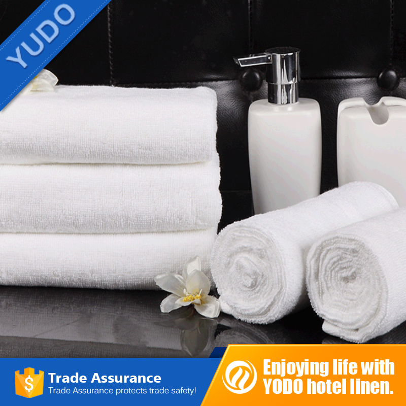 Hotel textile products of 21S plain square towel