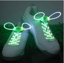 Comercio al por mayor brillante led rainbow light led cordones de los zapatos cordones de los zapatos