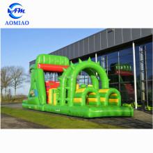 Top Assurancen giant inflatable obstacle course, adults inflatable water obstacle course for sale