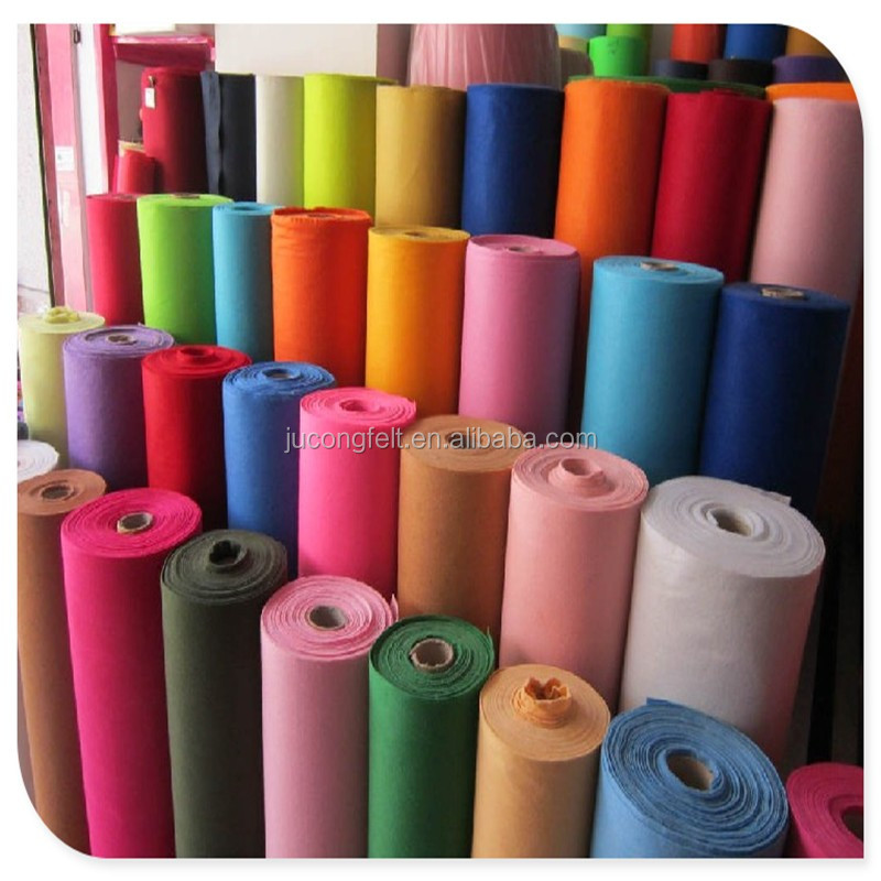 4mm Needle Punched nonwoven printed Felt Fabric Factory direct sale