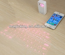 2014 new magic cube wireless virtual laser keyboard