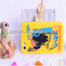 bear shape silicone mobile phone case,for iphone 4 silicone fashion mobile phone case Despicable Me