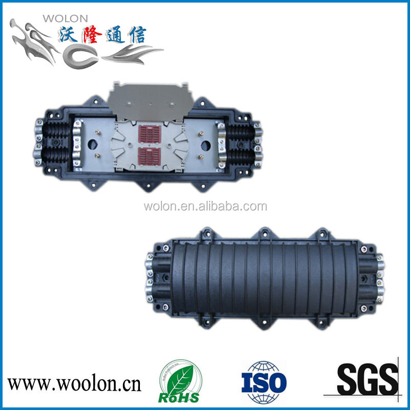 2 IN 2 OUT 24 core waterproof fiber optic splice closure