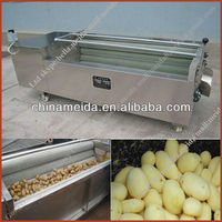 High Productivity Automatic cassava washing and peeling machine Sweet Potato Peeling Machine Potato & Ginger Cleaning Machine