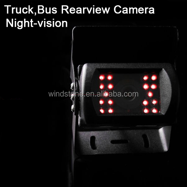 Never Interference 7 inch Monitor Digital Wireless Reversing Cameras for Caravans Bus Truck