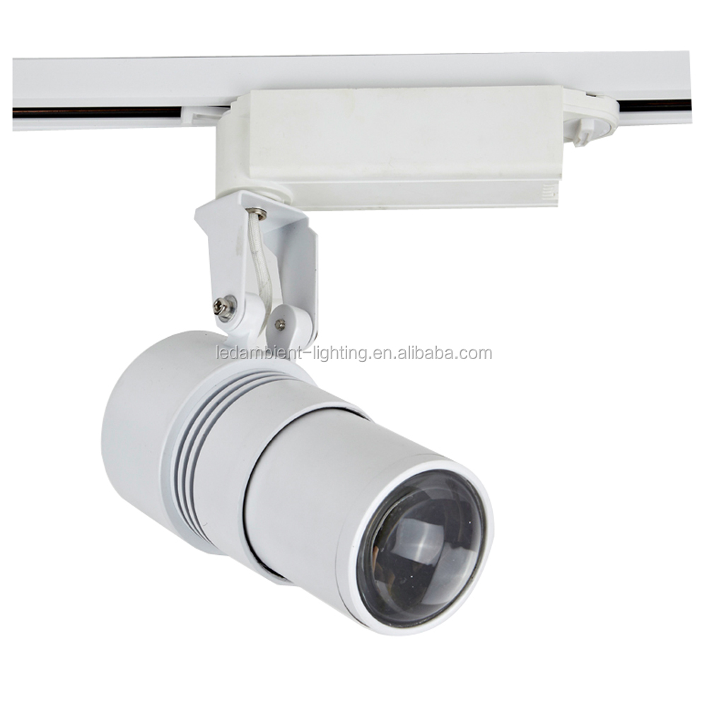 10w 15w20w30w LED COB track lights manufacturer rail ra>90 in china