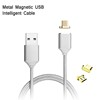 Nylon Magnetic Cable Charging Cable For iphone 5 6 7 8 Type-C for Android Magnetic Phone Cable
