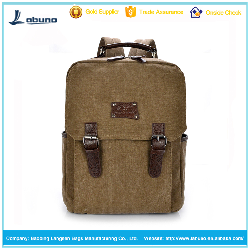 2016 Three vertical bar oxford fashion backpack bag outdoor shoulder bag