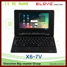 Chinese market sell like hot cakes students netbooks 7 inch Mini Original VIA WM8850 android laptop