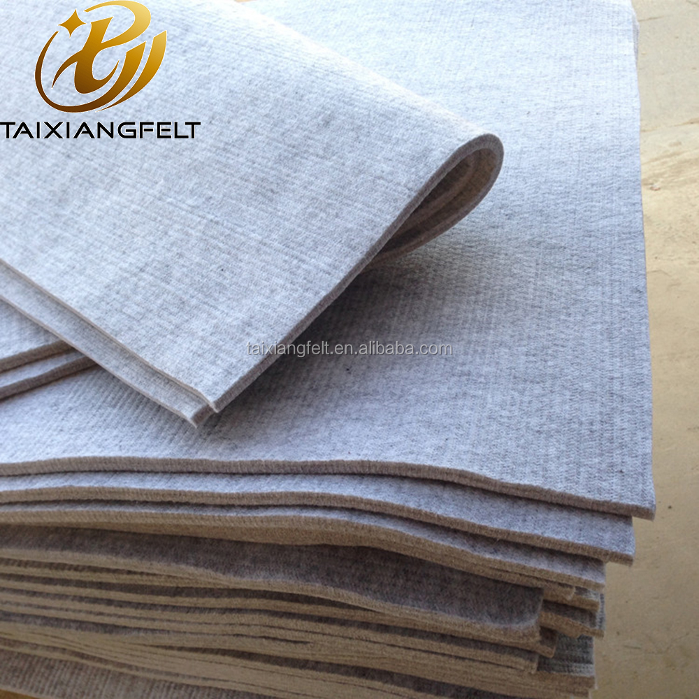 factory supply grey strip industrial wool felt