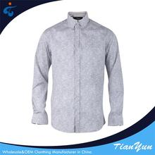 China factory Designer fashionable eco-friendly mens casual shirts pattern