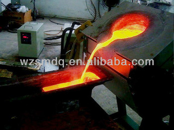 Induction Melting Copper Machine Medium Frequency