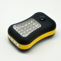 CE&ROHS Certification 24+4LED ABS Work Light with Hook and Magnet for promotion