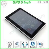 5 Inch Auto Car GPS Navigation Sat Nav 4GB 2015 New Map WinCE 6.0 FM Multi-languages