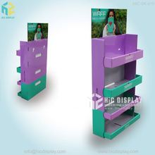 HIC Custom cardboard brochure sidekick stands, reusable magazine stand