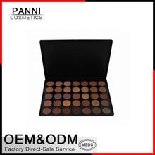 OEM private label make your own eyeshadow for dry skin