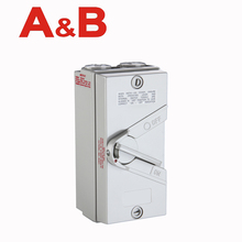 IP66 Weatherproof Isolating switch,wall mount CE widely Australian wholesale 1P 20A clipsal waterproof isolator*